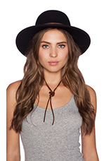 Clay Top Hat in Black & Tan