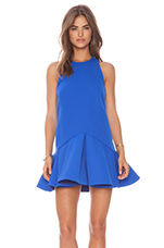Why Ask Dress in Cobalt Blue