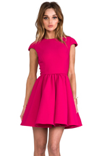 x REVOLVE Mountain Dew Dress in Raspberry
