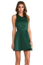 Blank Page Dress in Pine