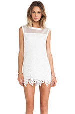 Swing Star Dress in Ivory