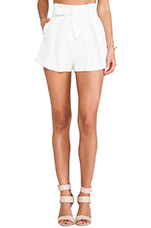 The Wire Shorts in Ivory