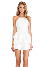 Perfect World Romper in Ivory