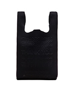 Embossed Neoprene Bag in Black