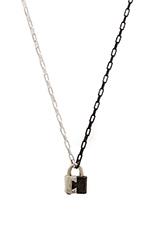 Two- Tone Lock W/ Black Plating