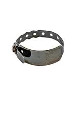 Hospital Bracelet in Black Rhodium