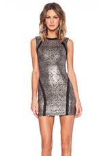 Bodycon Dress in Stardust Jersey