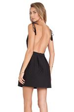 Eugenia Dress in Black