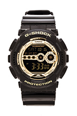 GD-100 Black and Gold in Black