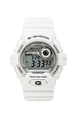 X-Large 8900 in White/Silver