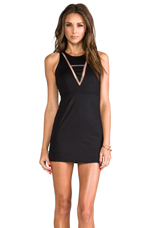Montana Tank Dress in Black