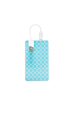 Kendra Slim Power Battery in Turquoise