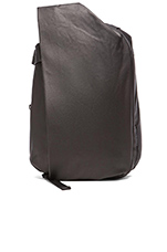 Isar Rucksack in Coated Canvas Black
