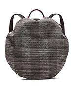 Moselle Backpack in Concrete Herringbone