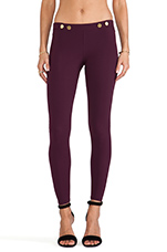 Hipster Pants in Black Cherry