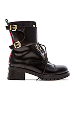 Combat Boot in Black