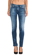 Arielle Mid Rise Slim in Weekend