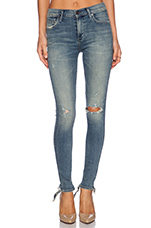 Premium Vintage Rocket High Rise Skinny in Stage Coach
