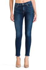 Rocket High Rise Skinny in Crispy