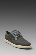 Ellington Canvas in Charcoal