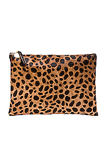 Flat Clutch in Leopard