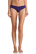 Cotton Thong in Deep Purple