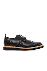 Gustav Brogue Oxford in Black