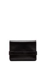 Three Pocket Wallet in Black