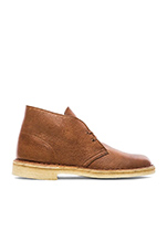 Desert Boot in Tan Tumbled Leather