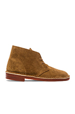 Desert Boot in Tobacco Suede & Brick Crepe
