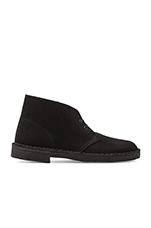 Originals Desert Boot in Black Suede