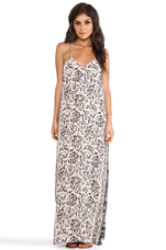 Maxi Tank Dress in Vintage Tapestry