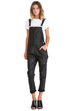 The Ranchhand Overall in Black Coated