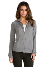The Hoodie in Heather Grey