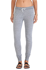 Drawstring Pants in Heather Grey