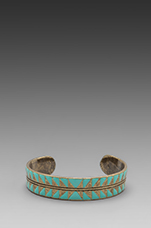 Eye Dazzler Cuff in Turquoise