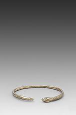 Snake Bangle in Brass