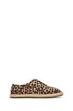 Leopard Ponyhair Espadrille Print in Leopard