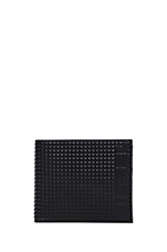 Money-Money Neela S Wallet in Black & Gloss Print