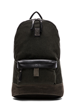 Hike City Hike-Clubber Backpack in Black
