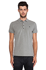 Alfred Polo in Ash Grey