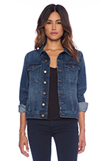 Maddox Denim Jacket in Envy