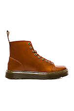 Talib 8 Eye Raw Boot in Oxblood