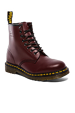 1460 8 Eye Boot in Cherry Red