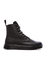 Curtis 8-Tie Boot in Black