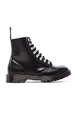 Assange Lace Boot Hardwear in Black