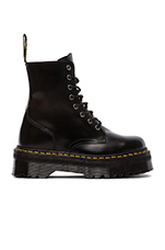 Jadon 8-Eye Boot in Black