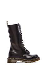 1914 W 14-Eye Boot in Black