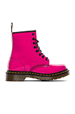 1460 W 8-Eye Boot in Hot Pink