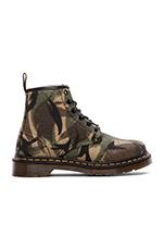 Cerren 6-Eye Boot in Green Large Camo